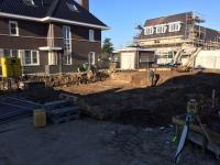 Start bouw vrijstaande woning Anna's Hoeve Hilversum