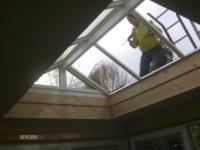 Aanbouw tuinkamer aan woning ,Kromgouw 29, Almere