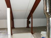 Interne verbouwing zolder (plaatsen vaste trap en dakraam) ,Hans Lodeizenstraat 65, Almere
