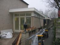 Aanbouw naast / achter woning ,Schalmeistraat 23, Almere
