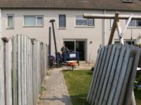 Aanbouw achter woning ,Willem de Vlaminghstraat 47, Almere