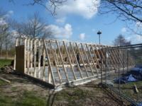 Nieuwbouw fietsenschuur / berging ,Natuurpark Lelystad, Vlotgrasweg, Lelystad