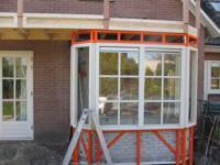 Uitbreiding woning met erker en balkon ,Samuel Esmeijerstraat 31, Almere