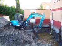 Nieuwbouw in het werk gemaakte kelder met opbouw (3 bouwlagen) ,Kakistraat 1, Almere
