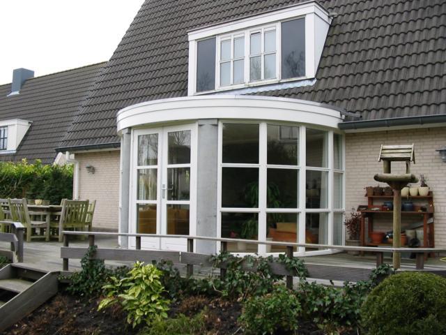 Bouw 2000 uitbreiding woning met serre en veranda bonte kraailaan 3 almere - Uitbreiding veranda ...
