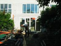 Aanbouw aan achterzijde woning ,Hollywoodlaan 38 en 40, Almere