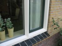 Plaatsen kunststof kozijnen en verbouwen badkamer ,H Gorterstraat 14, Balk