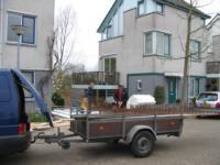 Aanbouw aan woning ,Frescobaldistraat 17, Almere