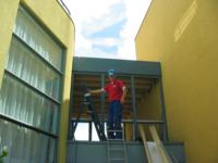 Dakopbouw op garage, tussen woning en buurwoning ,Chartreusestraat 10, Almere