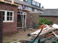 Aanbouw aan achterzijde woning ,Weversweg 2, Laren NH