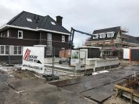 Begane grondvloer gereed woning Anna's Hoeve Hilversum