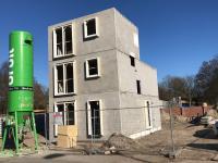 Start bouw 2 vrijstaande woningen