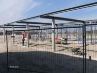 Aanleg fundering, begane grondvloer en betonnen kolommen ,Cyclopenstraat 2, Almere