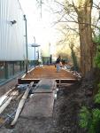 Constructieve betonplaat storten ,Nijverheidslaan 48, Weesp