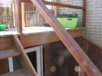 Nieuwbouw verdiepte berging met veranda ,Trosjespeergaarde 23, Amersfoort