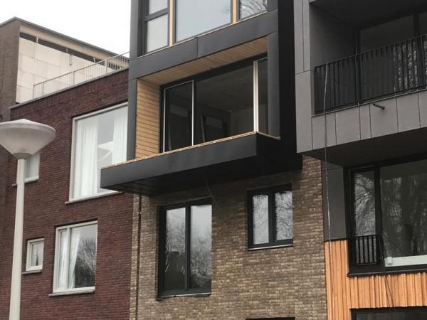 Nieuwbouw woningen ,Schepenlaan, Amsterdam