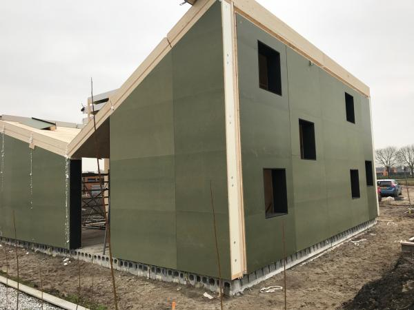 Gemeenschappelijk servicegebouw ,Vuursteenhof, Oosterwold