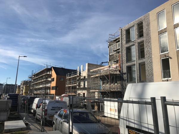 Nieuwbouw woningen ,IJsselmeerstraat, Almere