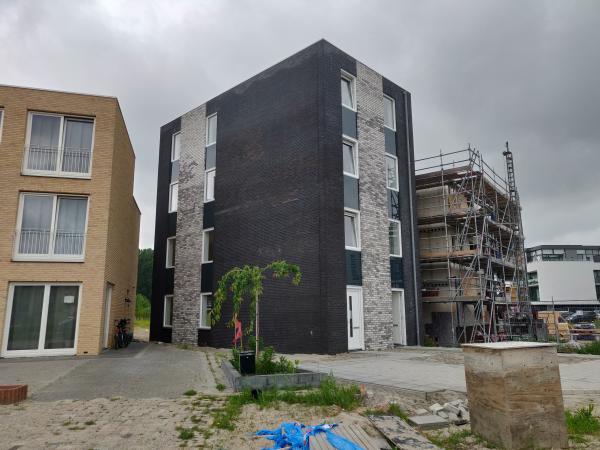 Nieuwbouw 2 appartementen ,Zwedenstraat, Almere
