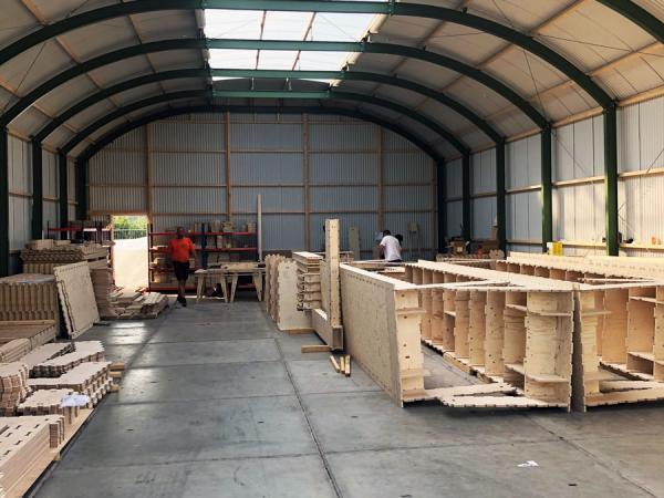 Nieuwbouw WikiHouse ,De Stripmaker te Almere