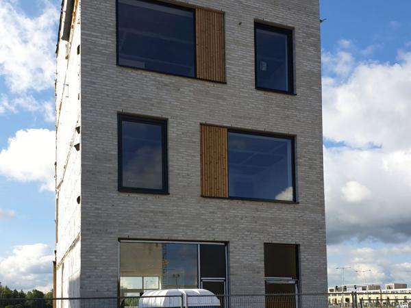 Nieuwbouw 3 woningen  ,Centrumeiland IJburg te Amsterdam