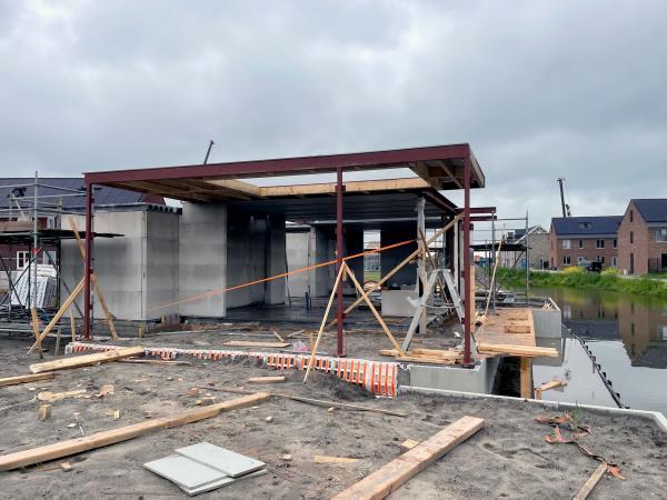 Nieuwbouw vrijstaande woning ,Het Klooster - Nobelhorst, C.V. Ramanstraat, Almere
