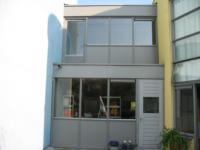 Dakopbouw op garage, tussen woning en buurwoning ,Chamoisstraat 27, 28, 29 en 32