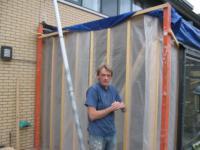 Aanbouw aan achterzijde woning ,Darja Collinstraat 17, Almere