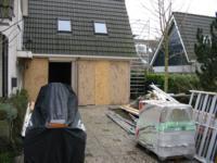 Interne verbouwing keuken / garage ,P Ellingstraat 11, Almere