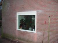 Plaatsen kozijn in bestaande zijgevel ,Keiwierde 156, Almere