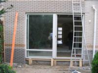 Aanbouw aan achterzijde woning ,Perzikstraat 60, Almere
