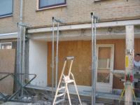 Aanbouw aan achterzijde woning ,Paso Doblesingel 55 en 58, Almere