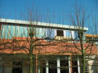 Dakopbouw aan achterzijde woning ,Vermiljoenstraat 10, Almere