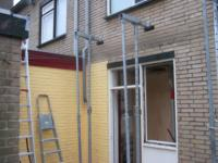 Aanbouw aan achterzijde woning met lichtstraat ,Huibert van Eijkenstraat 32, Naarden